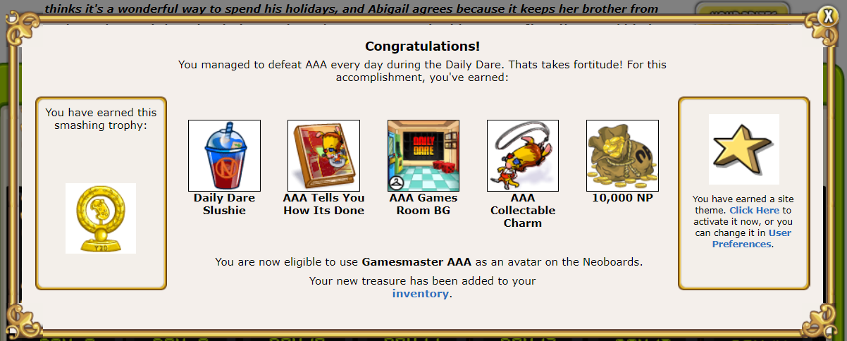 DAILY NEOPETS FREEBIES - neopets monthly freebies prizes