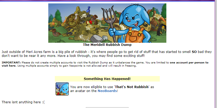 New Avatar Released! Solution Unknown - Neopets News - The